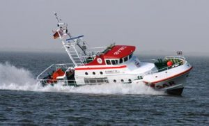 Seenotkreuzer des DGzRS